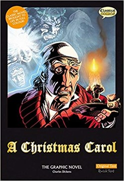 cover of A Christmas Carol, the graphic novel