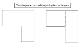 Joining rectangles