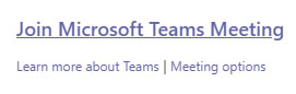 Join Microsoft Teams Meetings