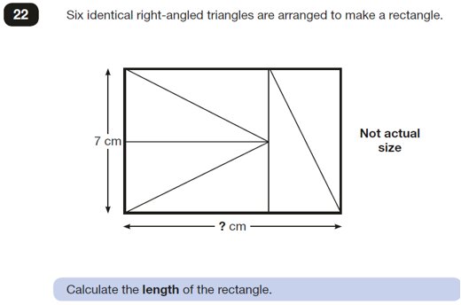 rectangle triangle problem SATs