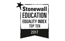 Stonewall Education Equality Index Top 10 - 2017