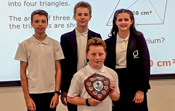 HfL 2019 maths challenge winners