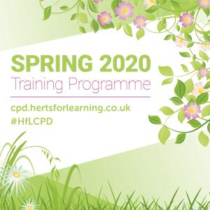 Spring training programme 2020 graphic