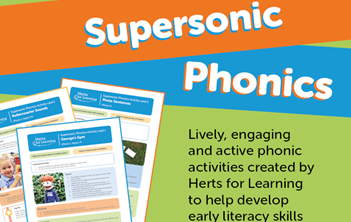 Supersonic Phonics logo