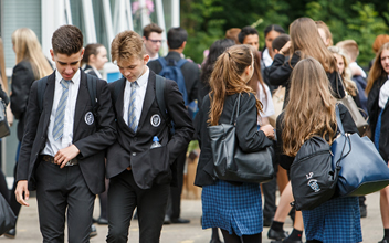 pupils leaving school
