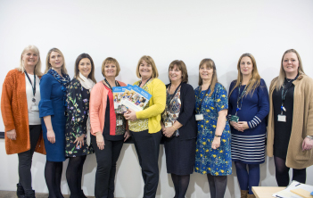 Early years team at PVI launch