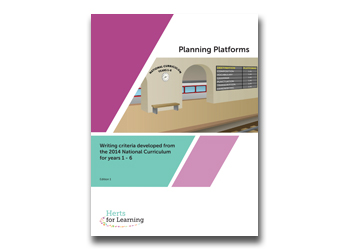 English planning platforms Years 1-6
