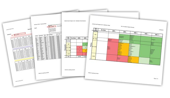 Foundations subject tracker