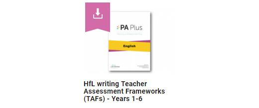 Teacher Assessment Frameworks for Years 1, 3, 4, & 5