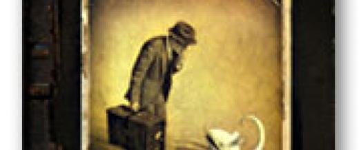 Cover image of Shaun Tan's The Arrival