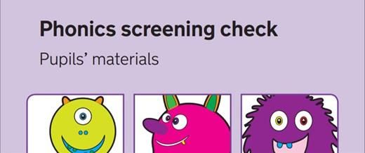 phonics screening check cover