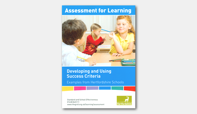 assessment for learning