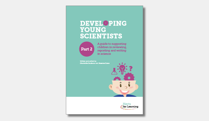 Developing young scientists - part 2 cover
