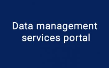 Data management services portal