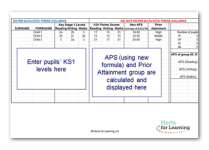 ks2 prior attainment calculator