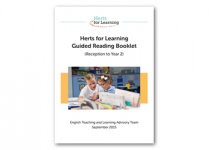 KS1 guided reading booklet